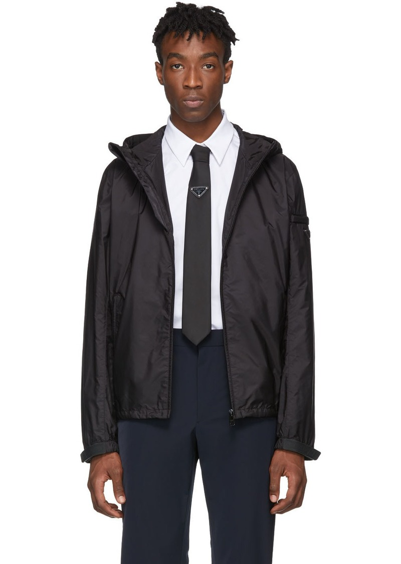 Prada Black Nylon Jacket