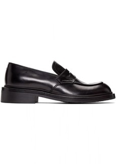 Prada Black Penny Loafers