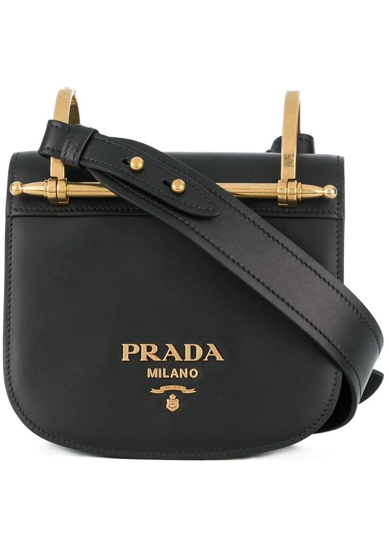 Prada Pionniere Leather crossbody bag