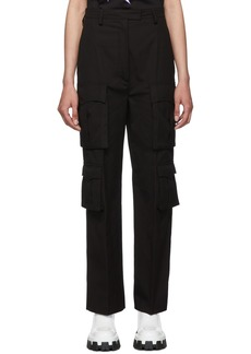 Prada Black Poplin Pockets Trousers
