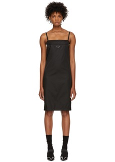 Prada Black Strappy Short Dress