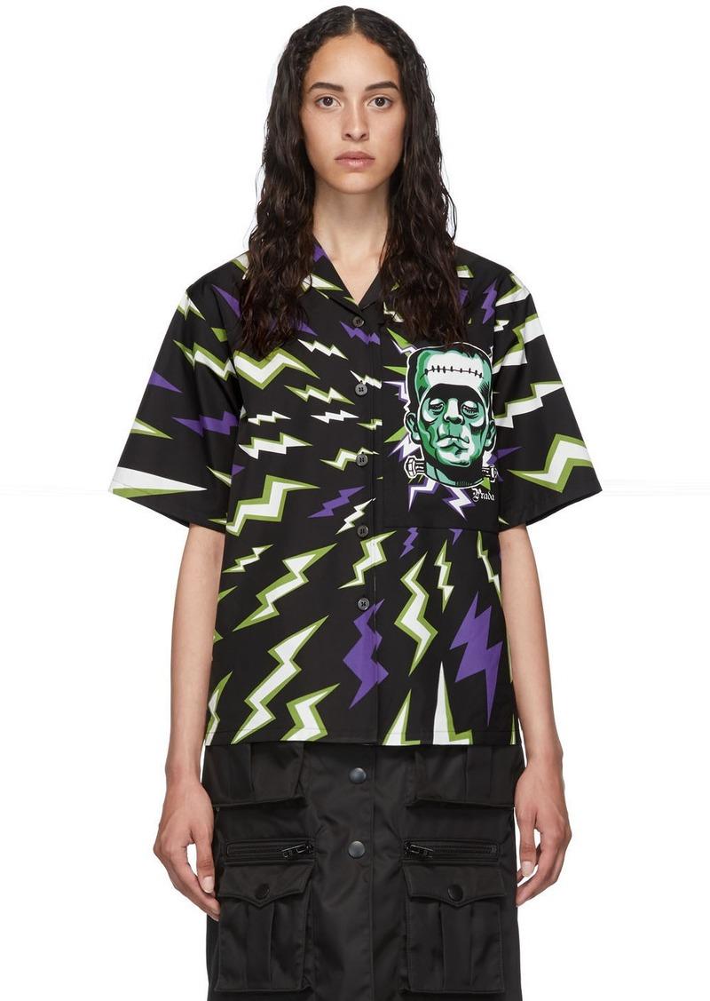 Prada Black Universal Studios Edition Frankenstein Shirt
