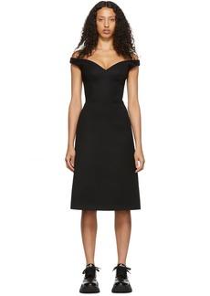 Prada Black V-Neck Dress