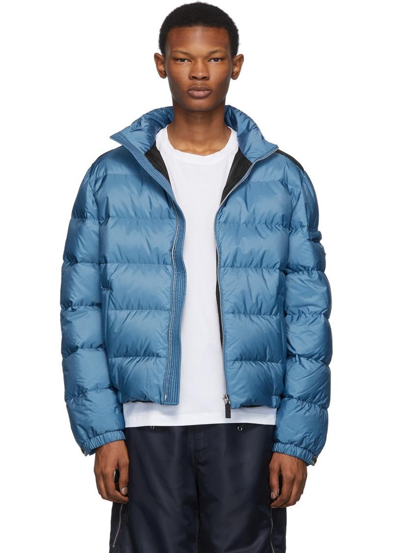 Prada Blue Down Nylon Jacket