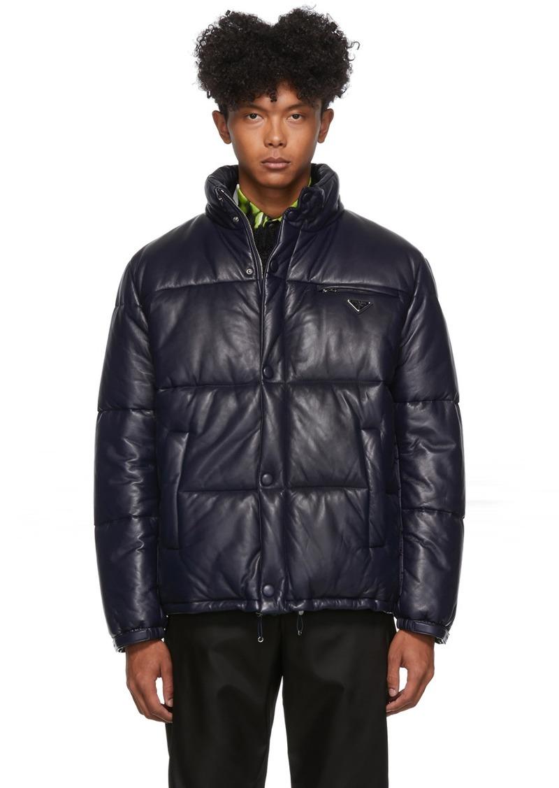 Prada Blue Padded Light Jacket