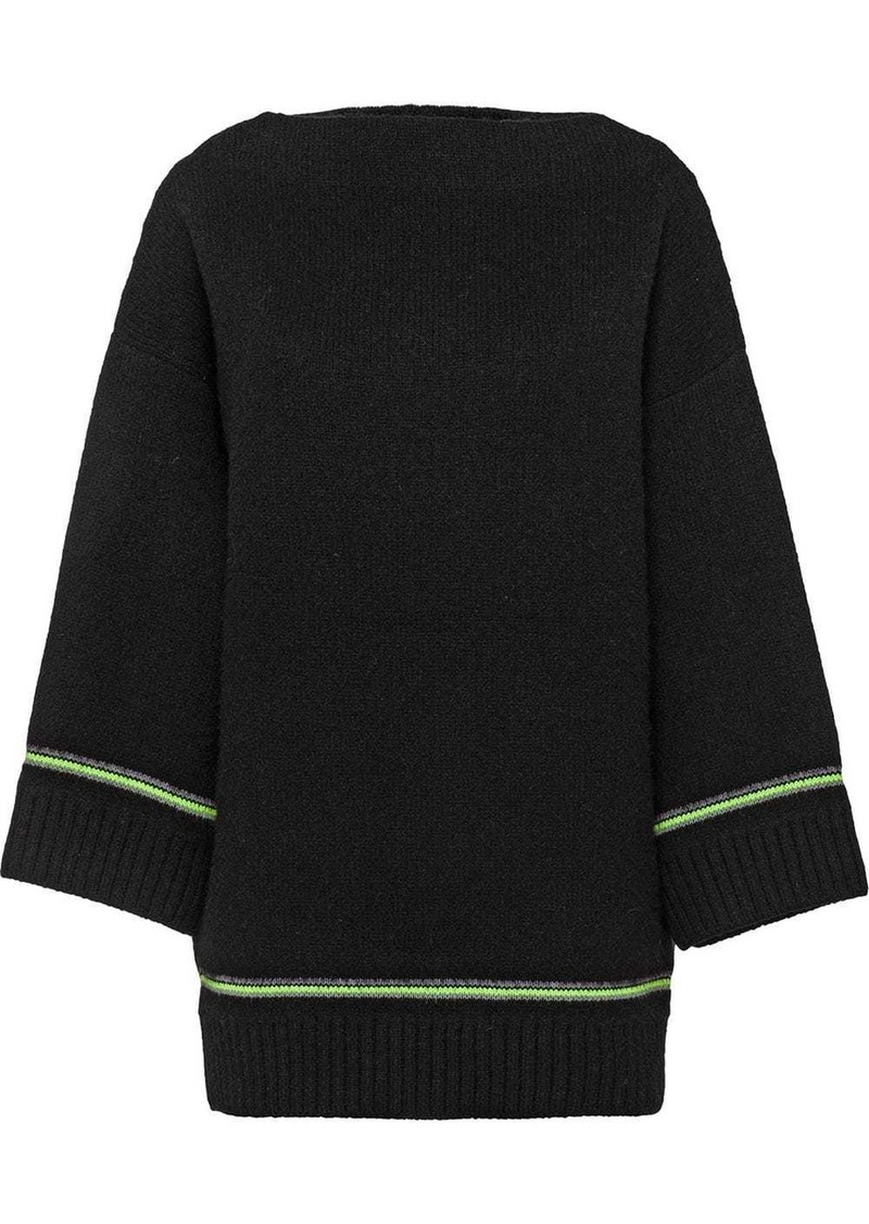 Prada boat neck sweater