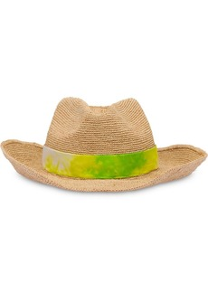 Prada bow detail hat