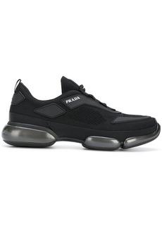 Prada branded low-top sneakers