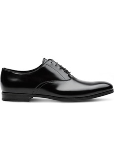 Prada Brushed leather Oxford shoes