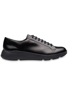 Prada Brushed leather sneakers