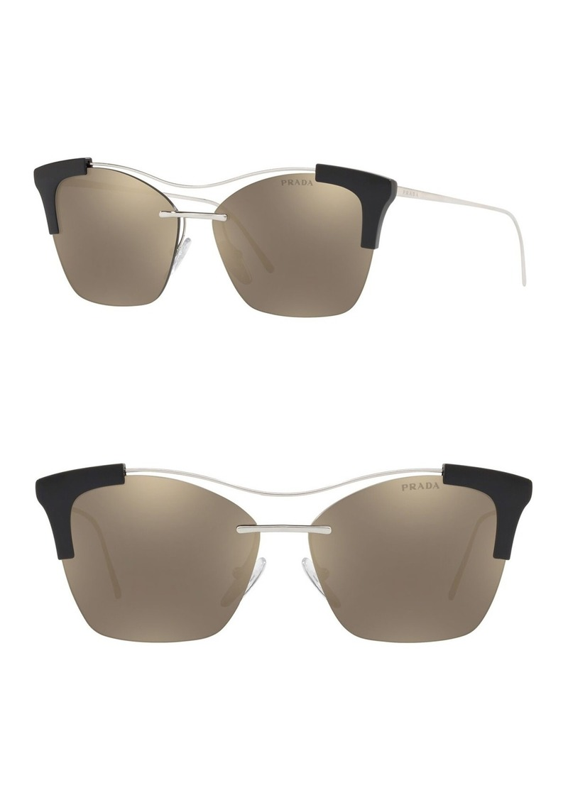 Prada Butterfly 57mm Sunglasses