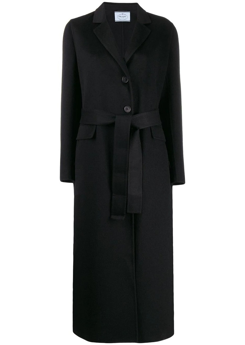 Prada button front coat
