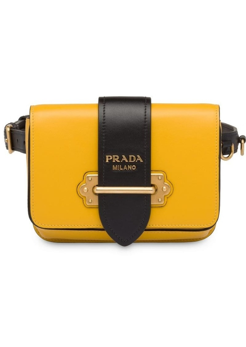 5b4c611154bc7 Prada cahier belt bag