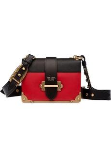 81112d29f1b9 Prada Prada Cahier Box patent-leather shoulder bag | Handbags