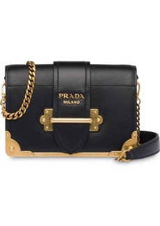 88364f4e7d39 Prada Prada Cahier Quilted Metallic Leather Crossbody Bag | Handbags