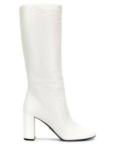 Prada calf leg boots