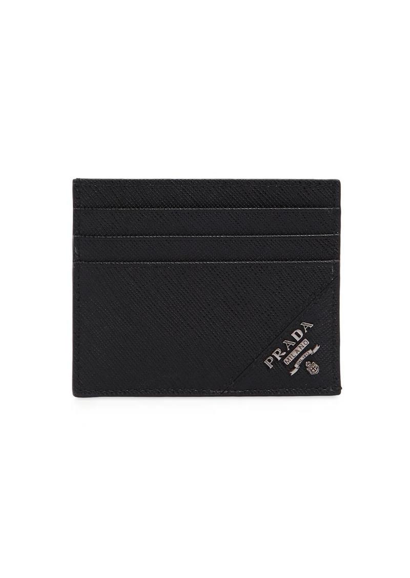 83af99e2012a Prada Cartilio Saffiano Leather Card Holder