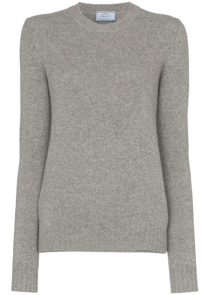 Prada cutout cashmere jumper