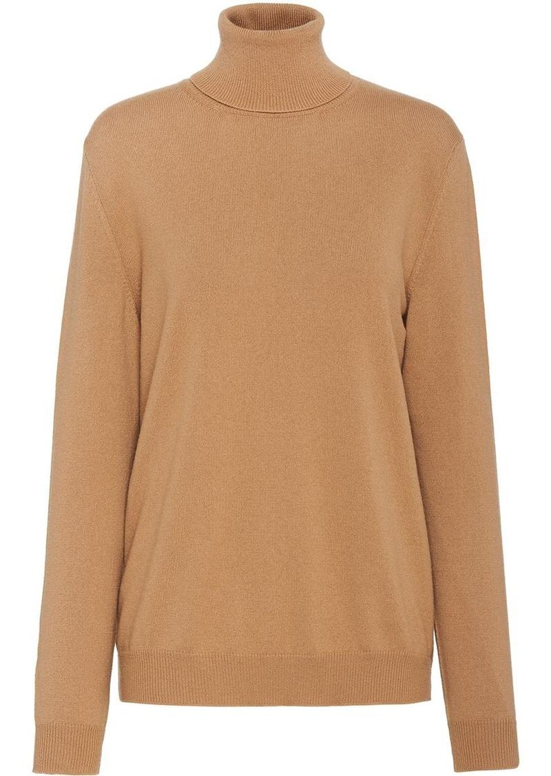 Prada cashmere roll-neck jumper