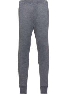 Prada cashmere track pants