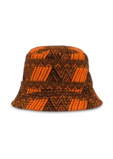 Prada cashmere zigzag hat