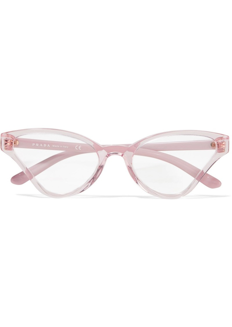 Prada Cat-eye Acetate Optical Glasses