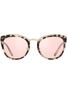 Prada cat eye mirror sunglasses