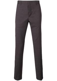 Prada checked tailored trousers