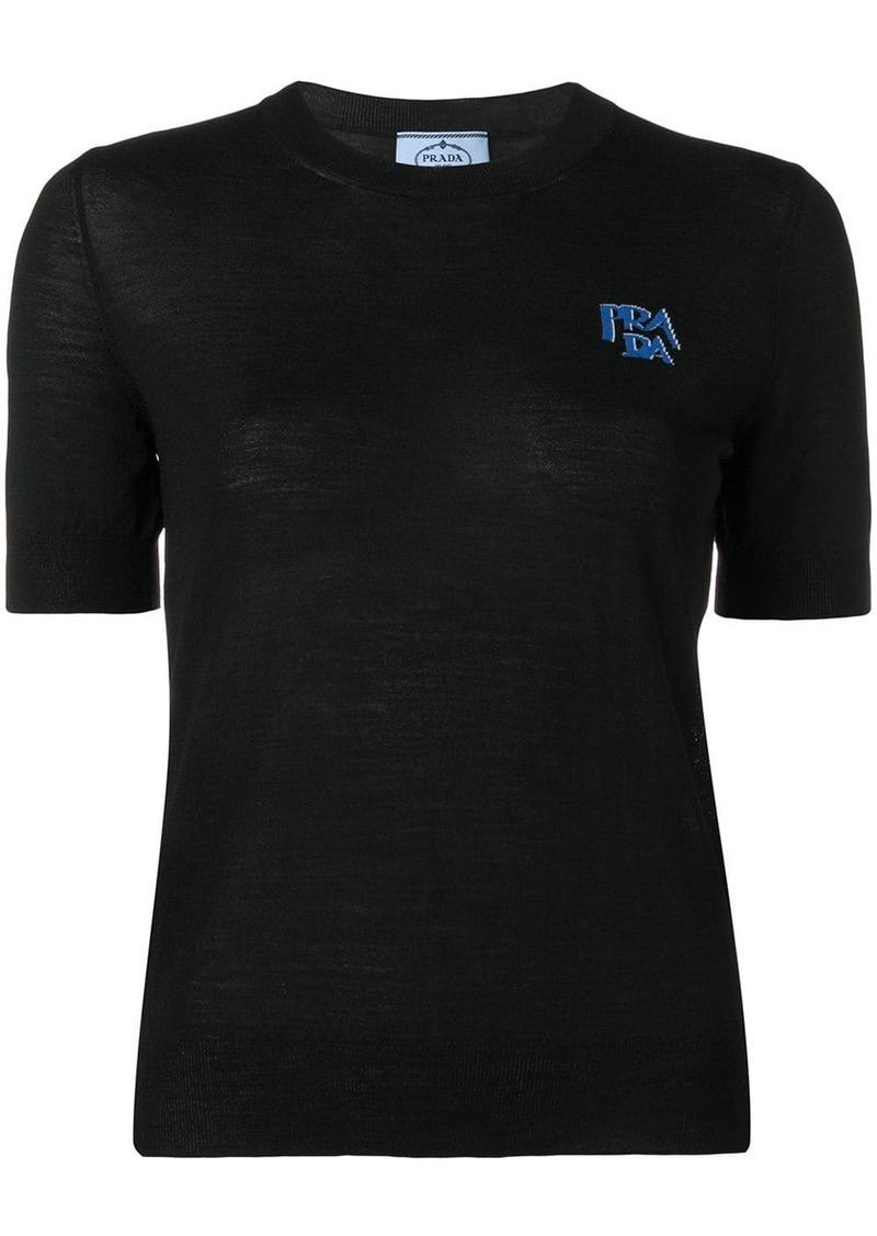 Prada chest logo T-shirt