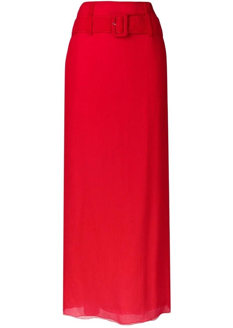 Prada Chiffon skirt