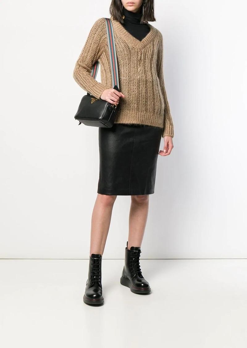 Prada chunky knit jumper