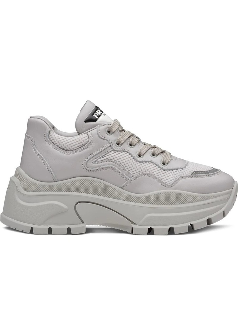 chunky panelled sneakers