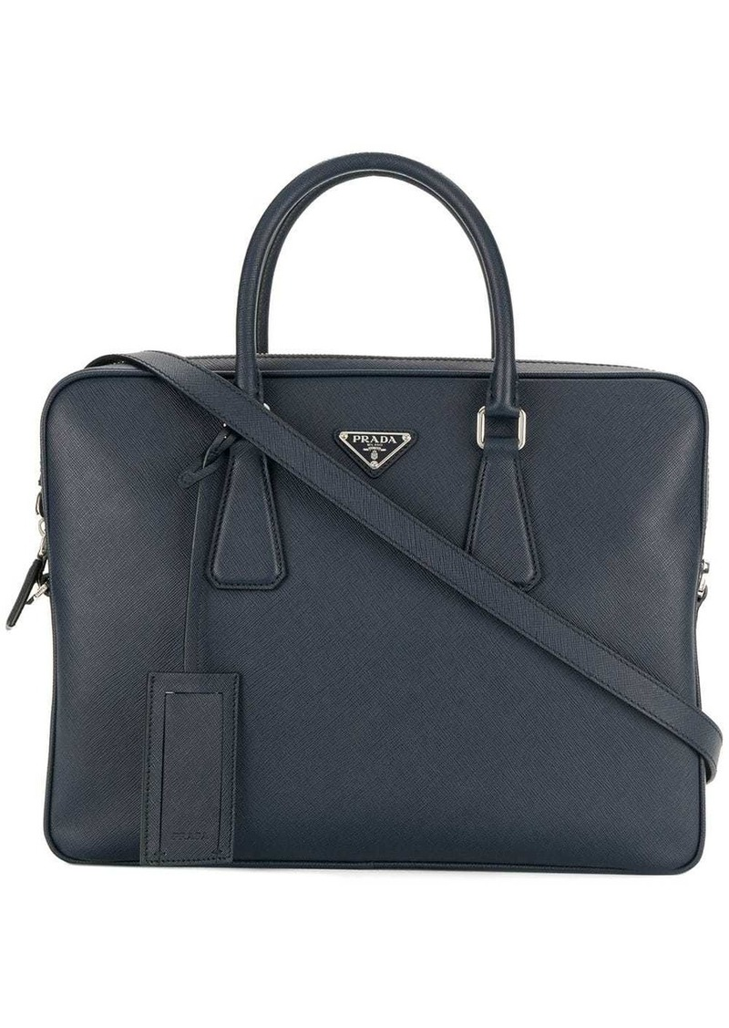 Prada classic laptop bag