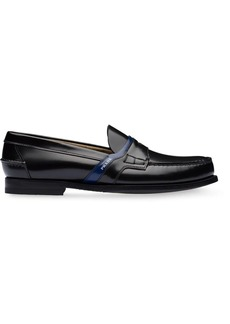 Prada classic logo loafers