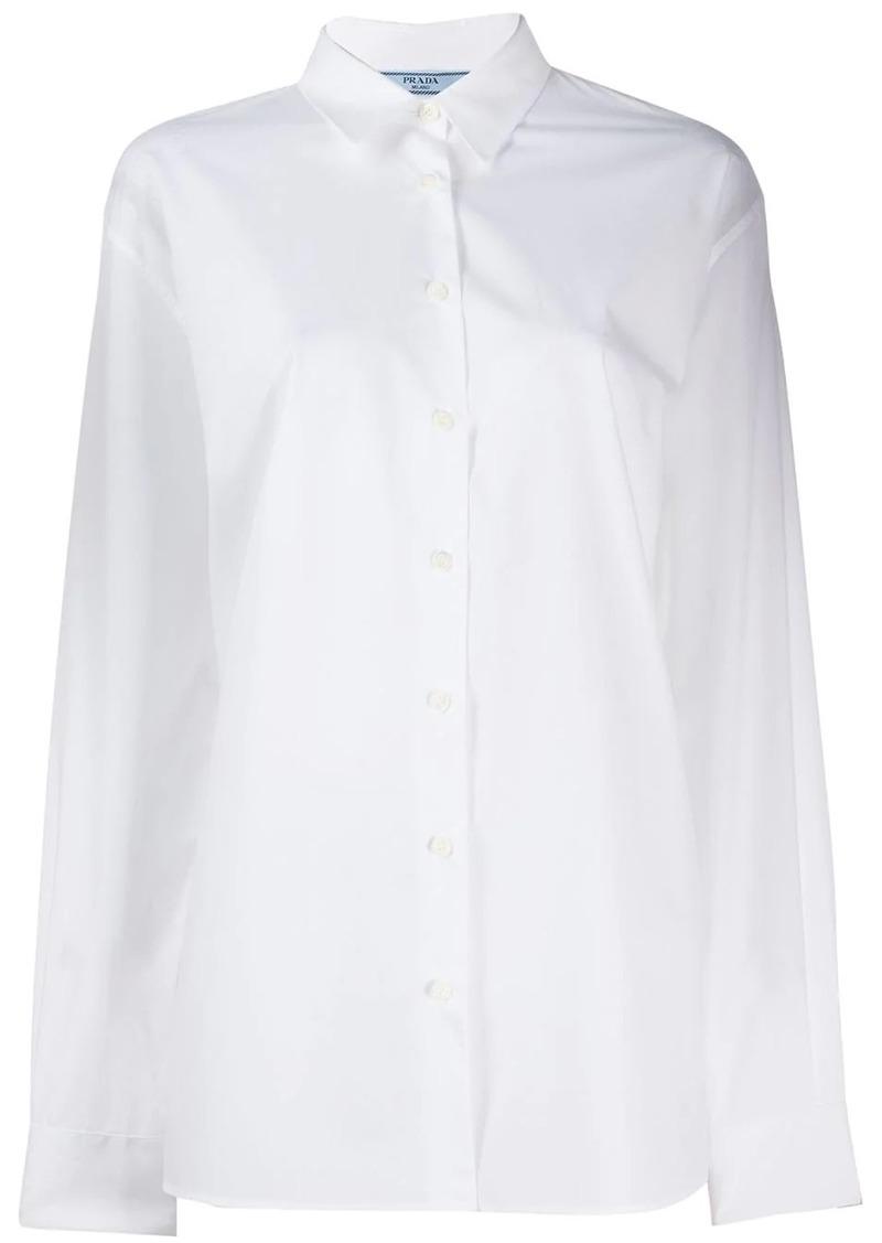 Prada classic plain shirt
