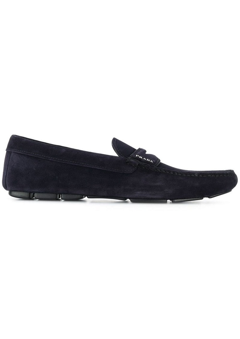 Prada classic slip-on loafers