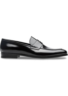 Prada classic varnished loafers