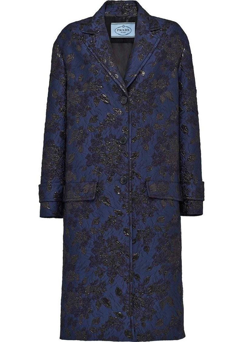 Prada Cloqué coat