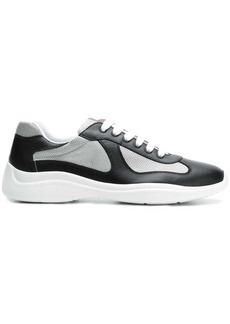 Prada colour-block low-top sneakers