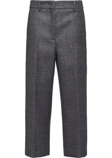 Prada Compact mouliné Prince of Wales trousers