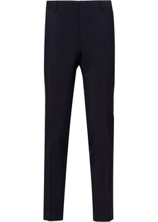 Prada concealed fastening tailored trousers