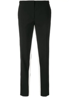 Prada contrast-stripe tailored trousers