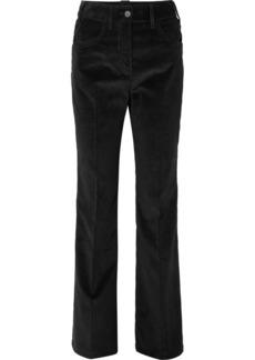 Prada Cotton-corduroy Wide-leg Pants
