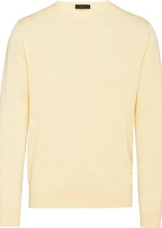 Prada crew neck knitted jumper