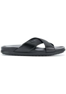 Prada criss cross sandals