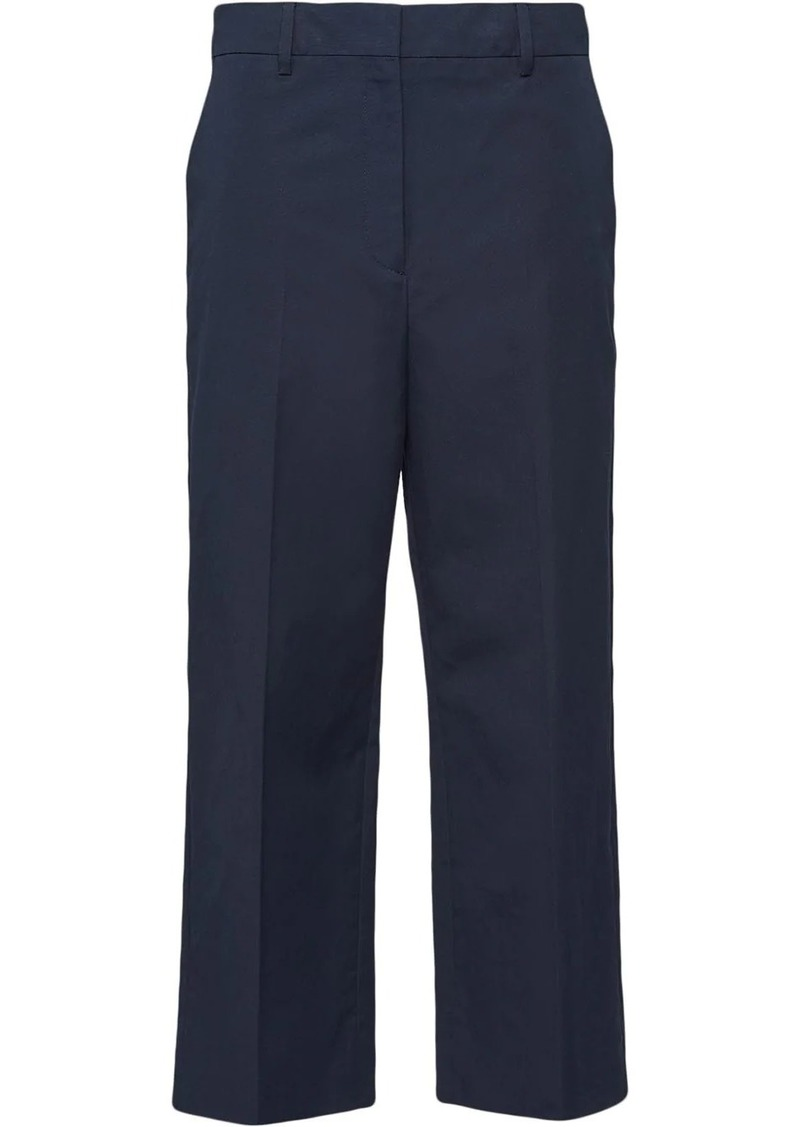 Prada cropped chino trousers