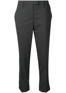 Prada cropped pleated trousers
