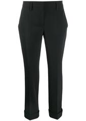 Prada cropped pleated trousers