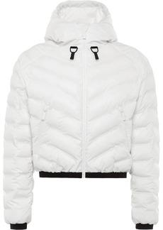 Prada Linea Rossa cropped puffer jacket