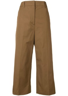 Prada cropped woven trousers